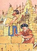 Ricostruzione mura di Gerusalemme